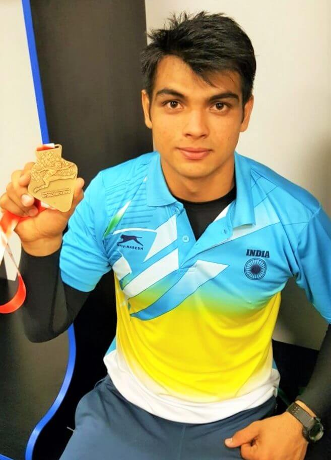 Neeraj Chopra featured on KreedOn