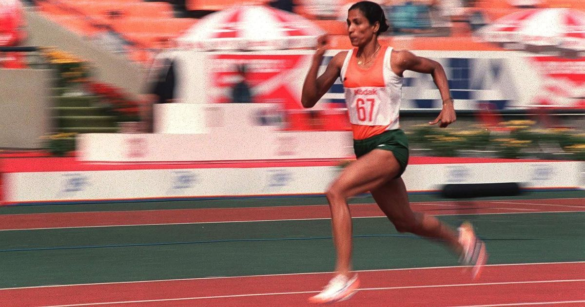P.T usha on KreedOn