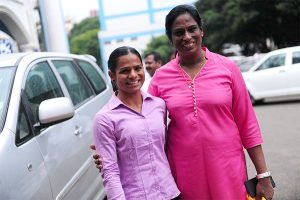 pt usha and dutee chand on KreedOn