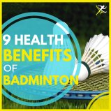 9 health benefits of Playing Badminton