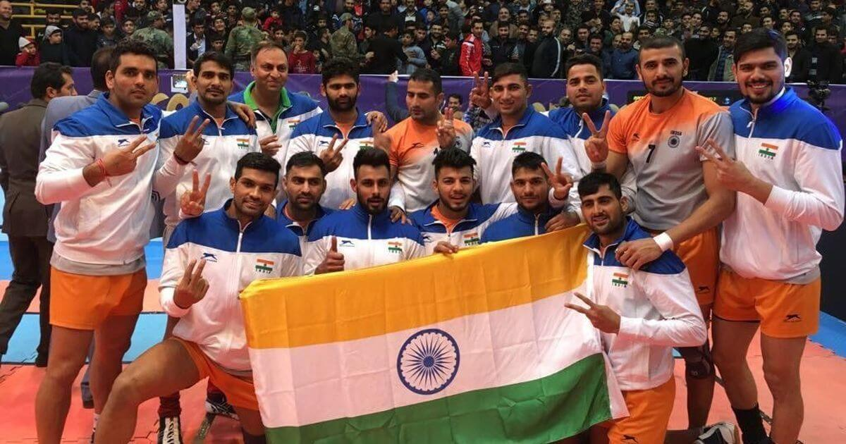 Asian -Kabaddi-Championship-Winner- India-KreedOn