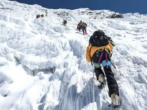 Career in Mountaineering