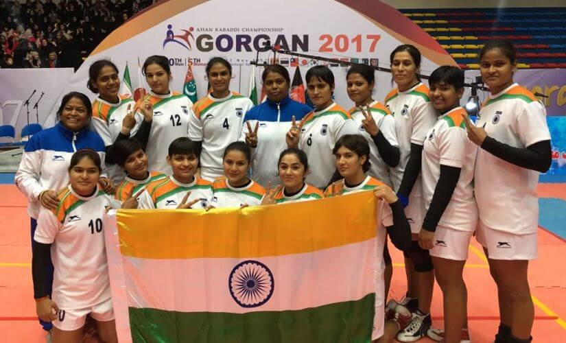 Asian - Kabaddi - Championship - Indian - Women - KreedOn