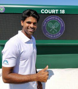 Vishnu Vardhan Indian tennis players KreedOn