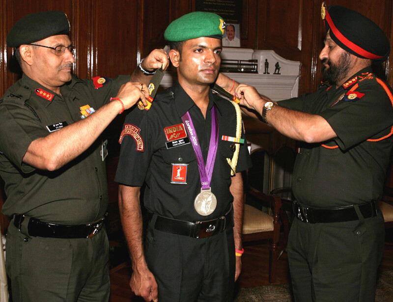 indian army athletes kreedon