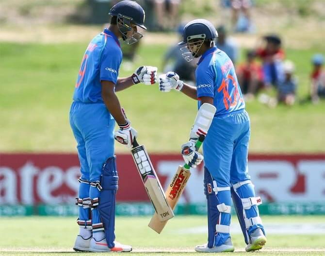 indian under 19 team kreedon