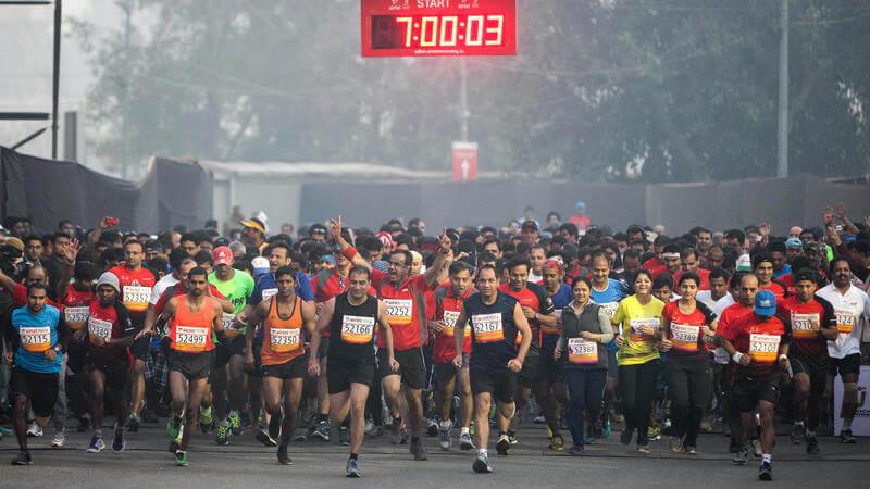 mumbai marathon 2018 kreedon