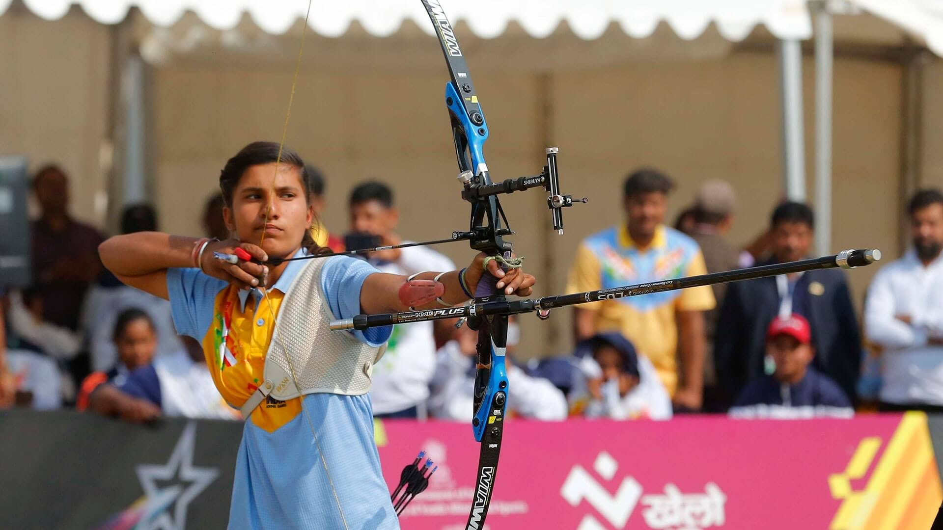 Image result for archery khelo india