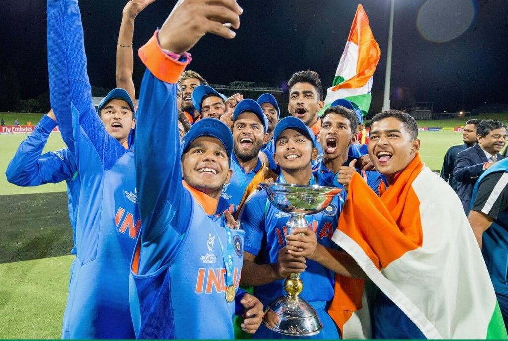 india under 19 world cup team kreedon