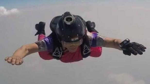 skydiver kreedon