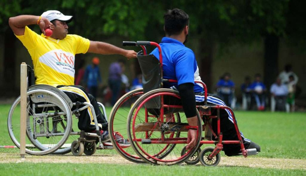wheelchair cricket league kreedon