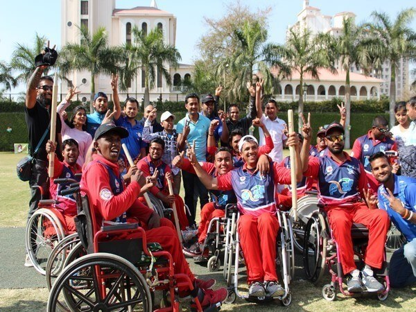 wheelchair cricket league kreedon