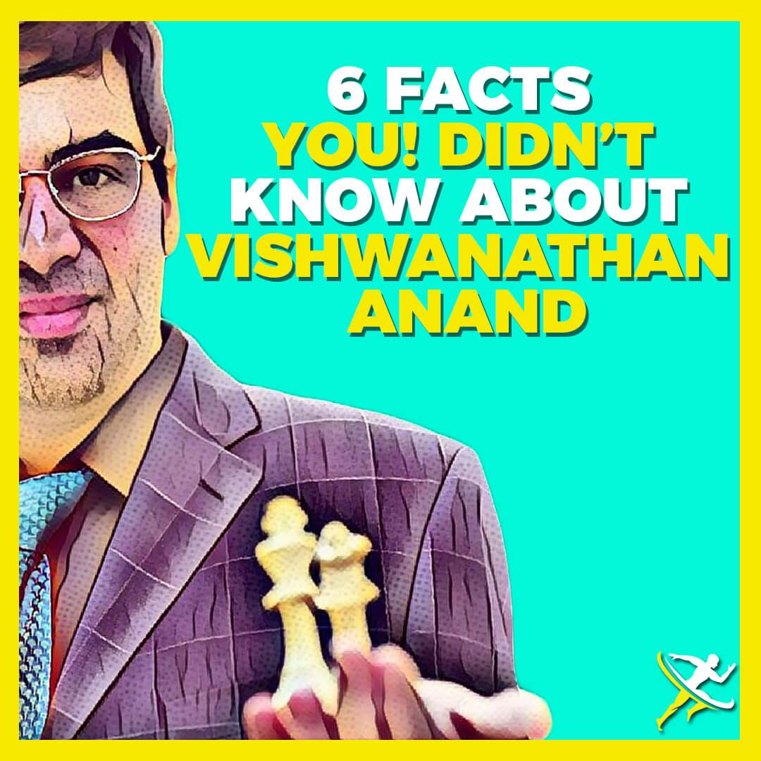 6 facts vishwanathan anand by KreedOn||||||