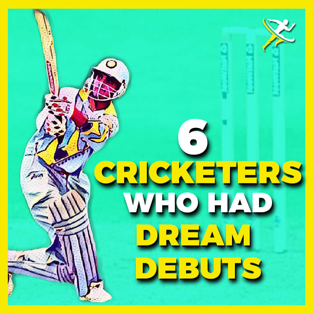 6 cricketers square thumbnail by kreedon|NICKNAMES OF INDIAN CRICKET RECTANGLE by KreedOn|Hirwani debut|Lokesh Debut|Ganguly debut|best-debut-indian-cricketers