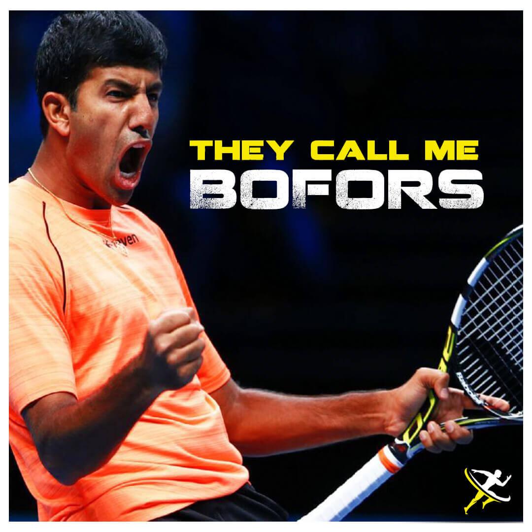 Rohan Bopanna Indian Tennis by KreedOn Rohan-Bopanna-by KreedOn RohanBopanna by KreeddOn