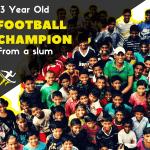 Social development breeding football champions in Delhi slums
