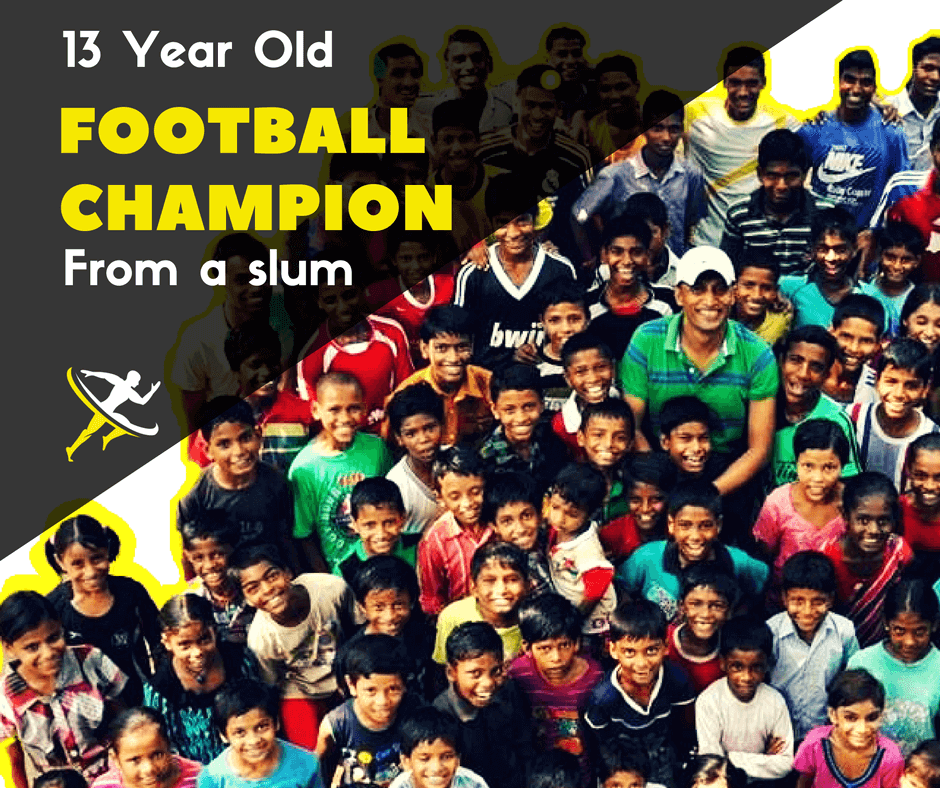 ||Social development producing football champions in Delhi slums - by Kreedon|