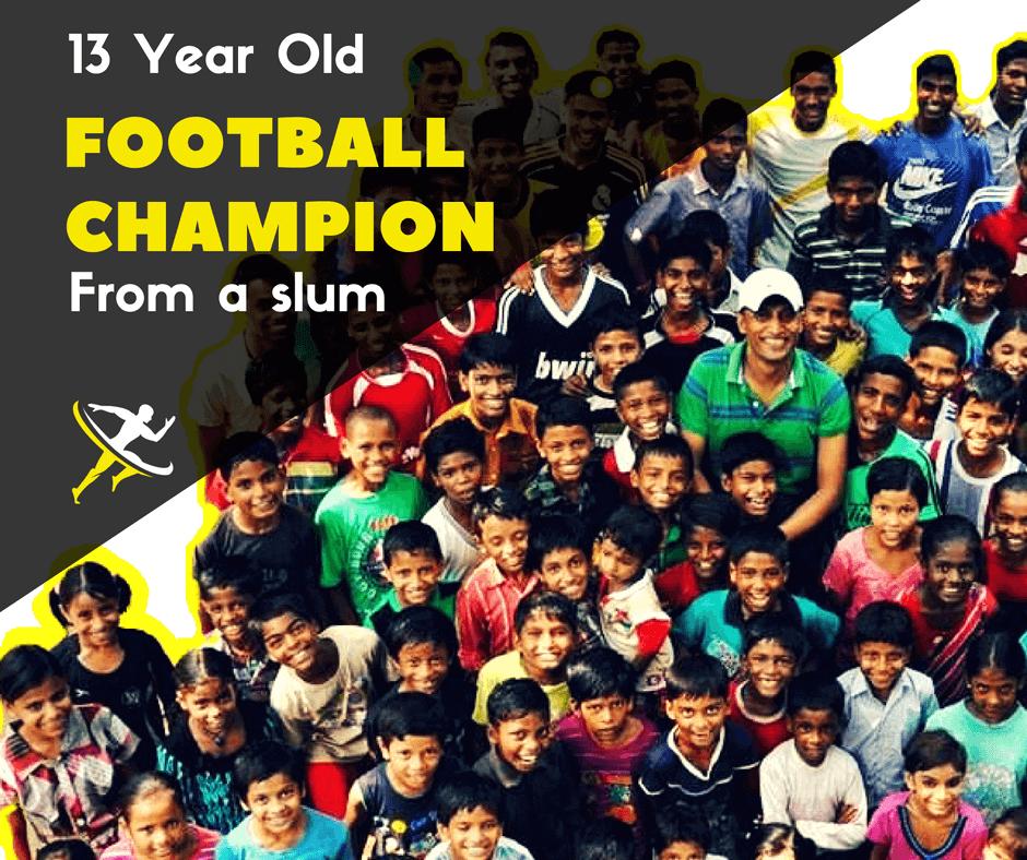 ||Social development producing football champions in Delhi slums - by Kreedon|