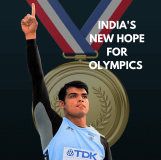 |Neeraj Chopra featured on KreedOn