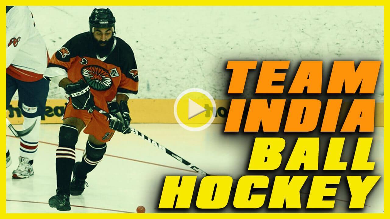 Team India Ball Hockey by kreedon|