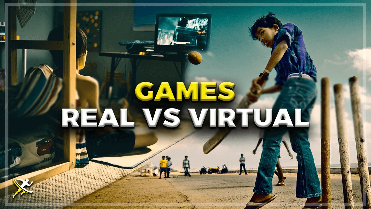 Video Games vs Sports by KreedOn