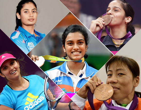 famous female sports players in india kreedon