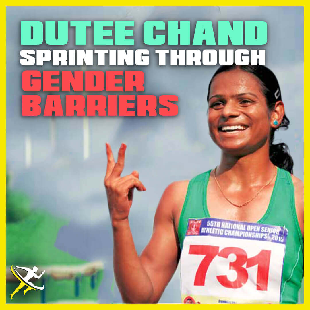 dutee chand by KreedOn||