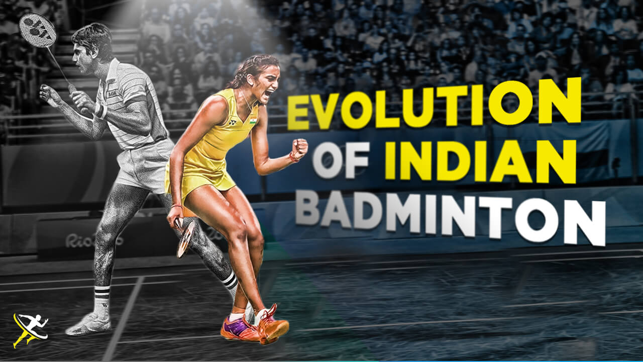 evolution of indian badminton by KreedOn