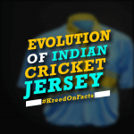 Evolution of Indian Cricket Jersey
