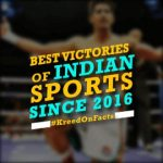 Best Victories For Indian Sports since 2016