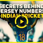 Story behind the jerseys of Indian Cricketers