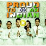 Indian sports legends sing the national anthem for a cause