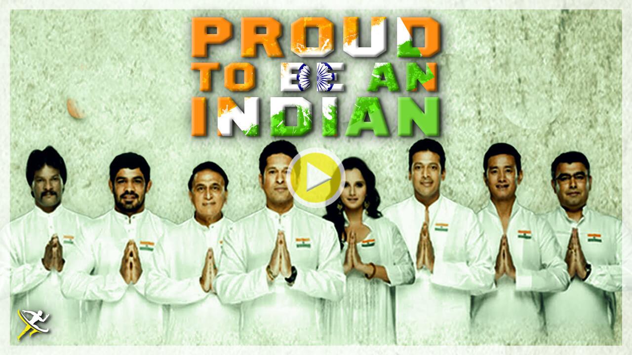 indian athlete singing RECTANGLE by KreedOn  Singing Indian national anthem for a cause- KreedOn
