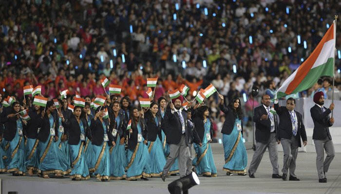 Indian athletes kreedon|indian contingent kreedon|indian athletes kreedon