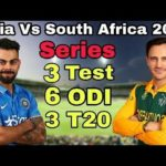 India vs South Africa Highlights – History, Records, Profile and Information