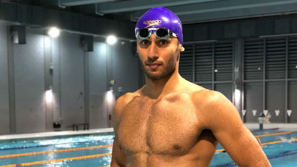 indian swimmer kreedon