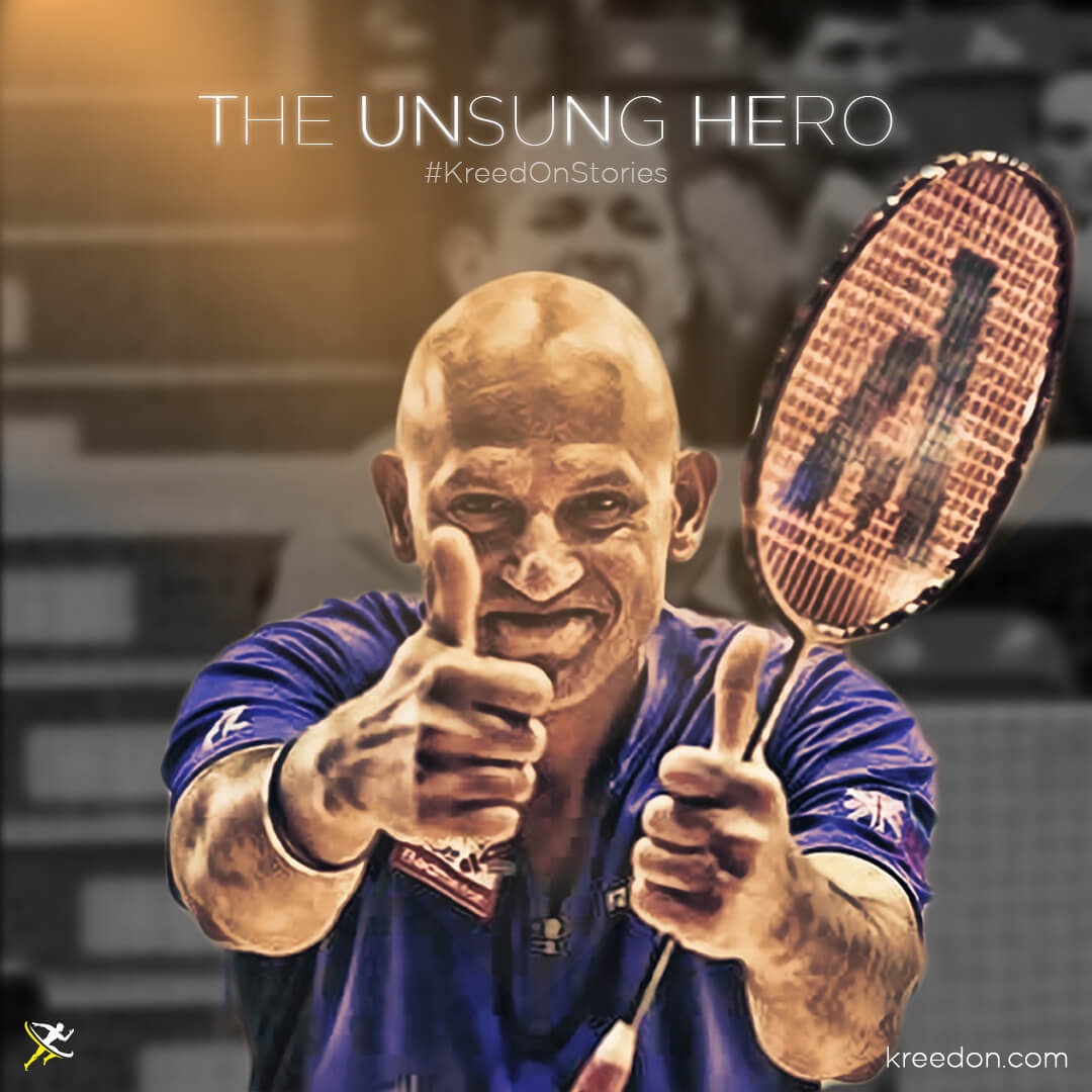 """Story of India's best Deaflympics Shuttler"""" is locked Story of India's best Deaflympics Shuttler - Rajeev Bagga by KreedOn