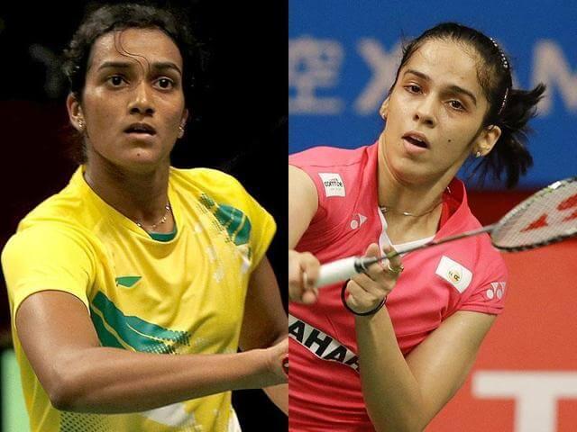 pv sindhu and saina nehwal at KreedOn