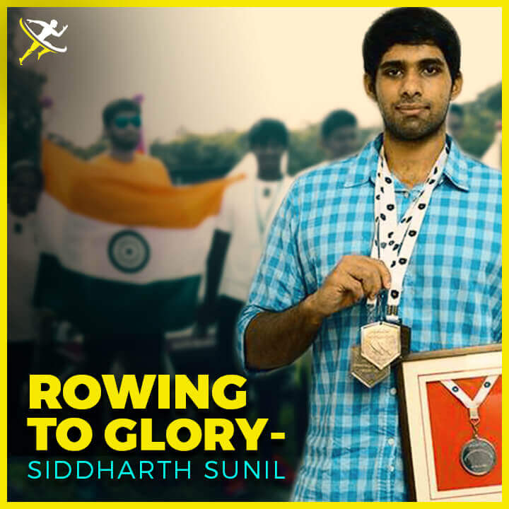 siddhart sunil - Promising Young Rower Steering India to Glory by KreedOn Promising Young Rower Steering India to Glory-KreedOn