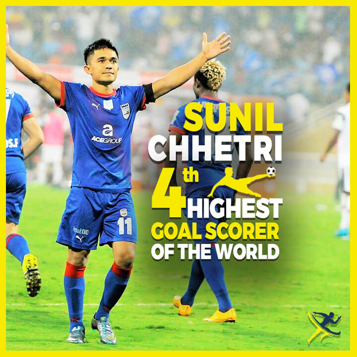sunil chhetri Indian Football by kreedon