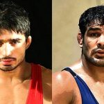 Is Sushil Kumar suspended from participating in XXI Commonwealth Games?