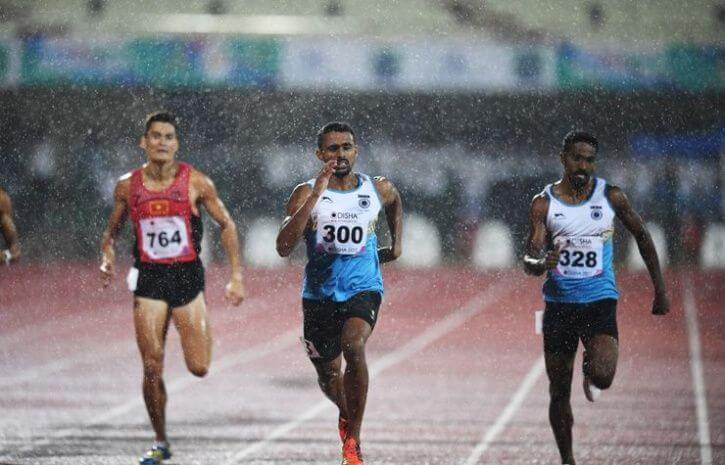 Indian track and field squad kreedon|Indian track and field squad kreedon