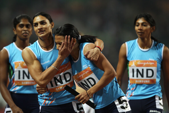 Indian track and field squad kreedon