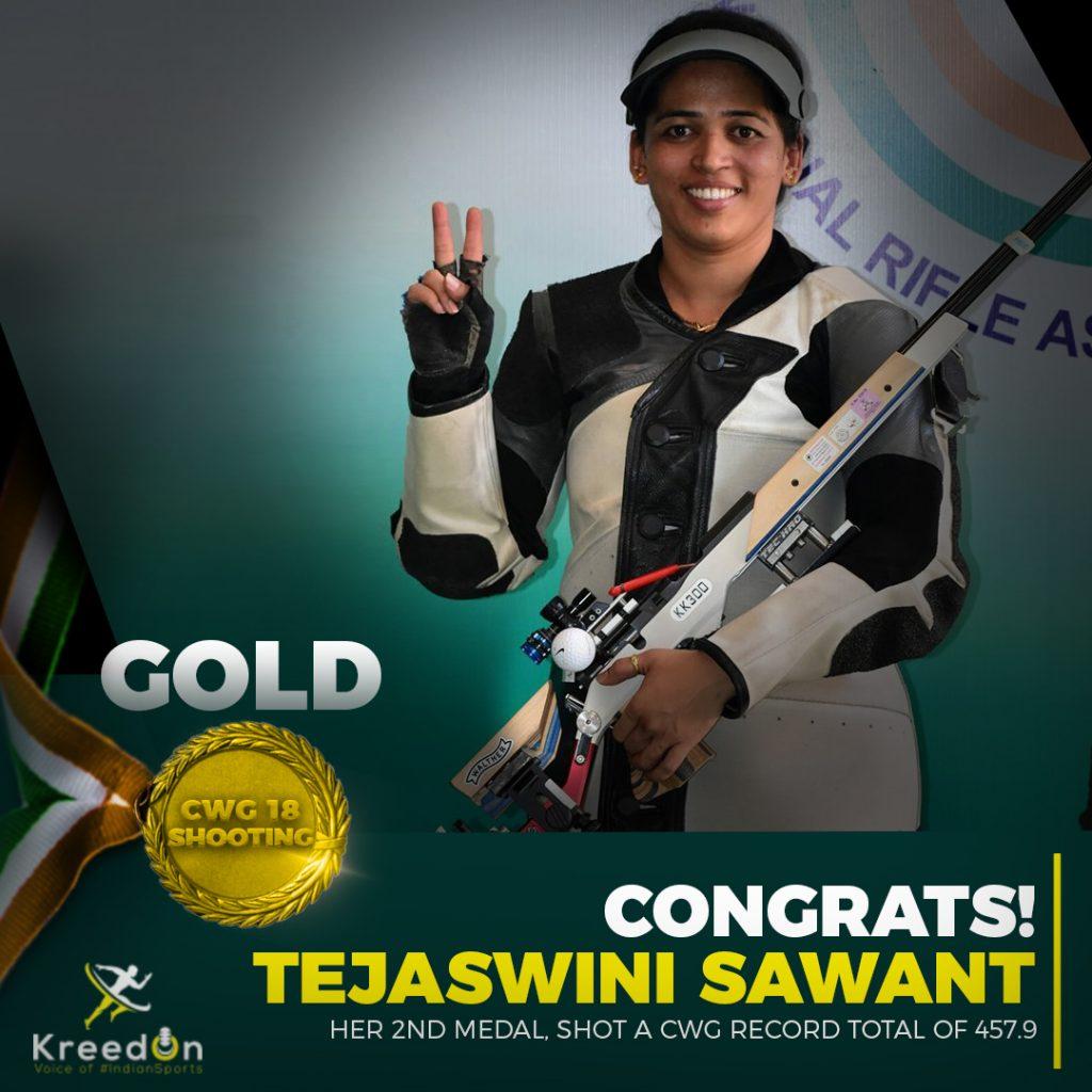 Tejaswini Sawant kreedon