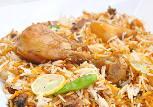 Indian Food- Dum Biryani