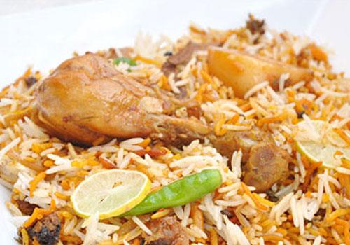 Indian Food- Dum Biryani