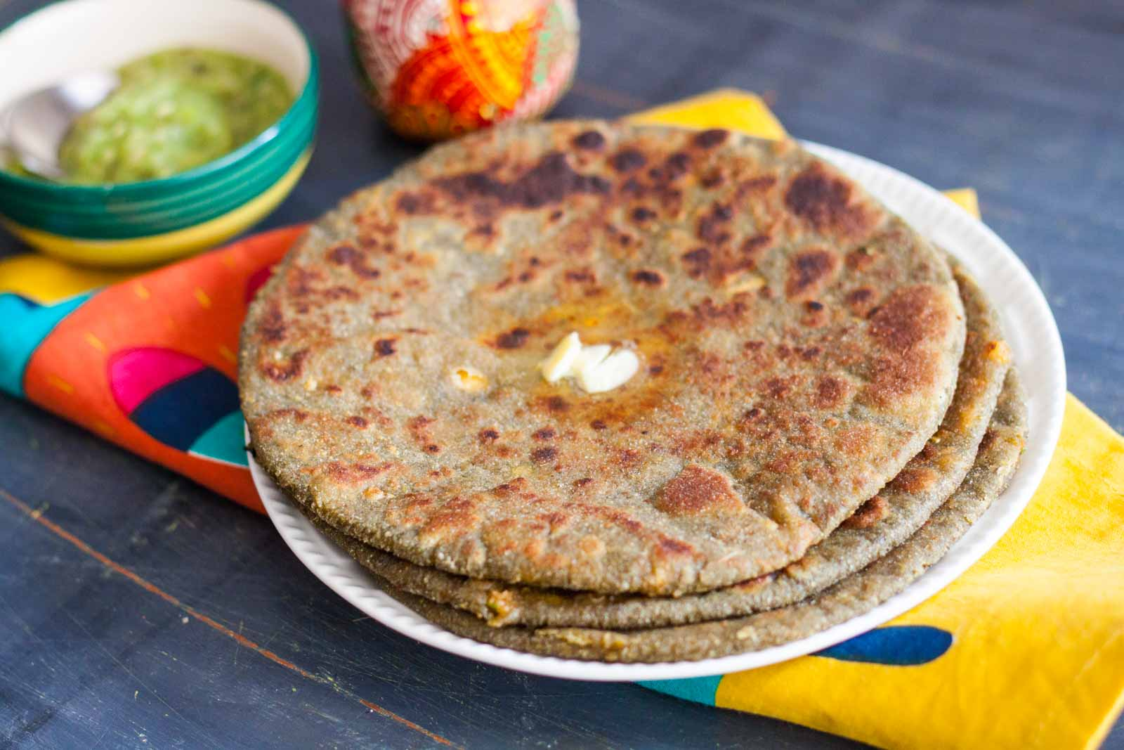Indian Food - Aloo Paratha