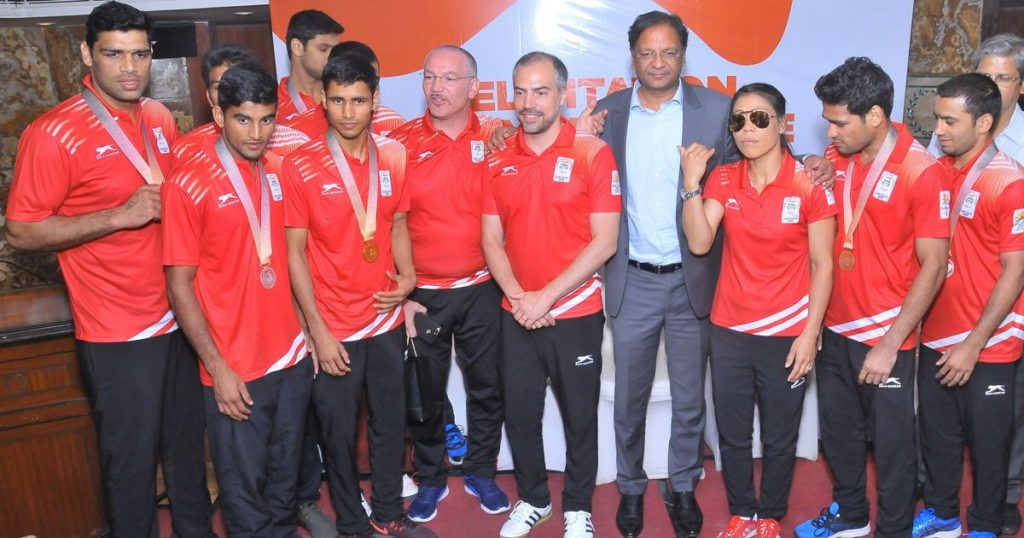 indian boxing team kreedon
