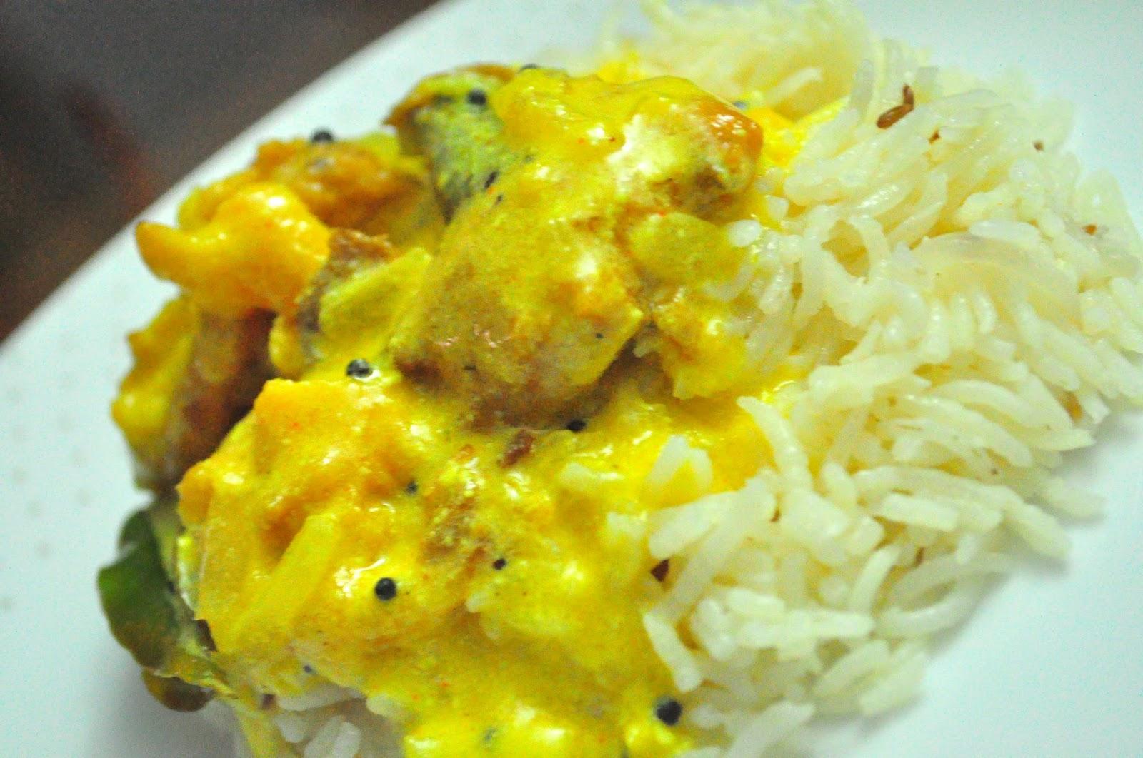 Indian Food - Kadhi Chawal