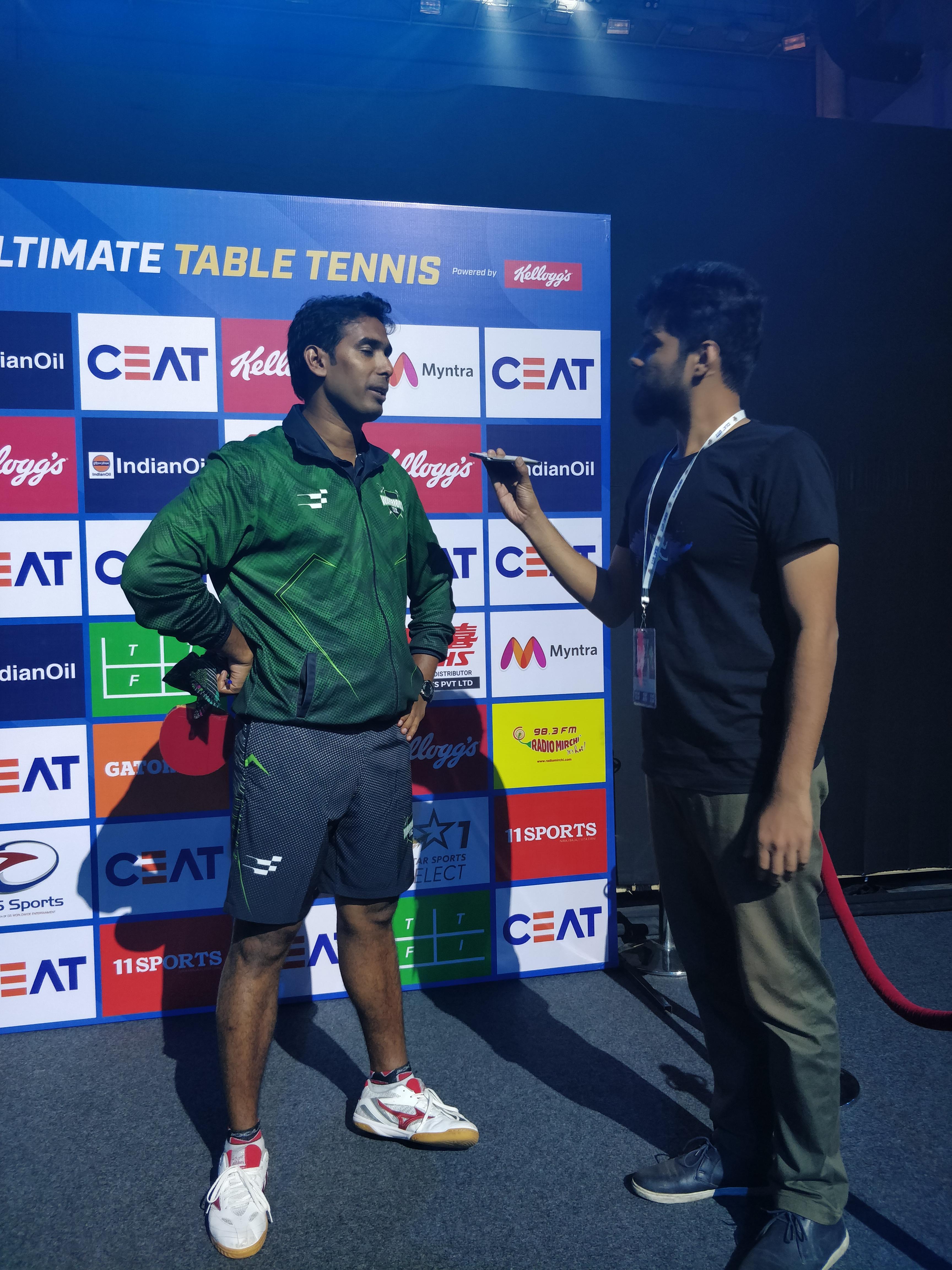 Sharath Kamal - Ultimate Table Tennis